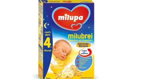 ab wann bekommt baby brei r 252 ckruf babynahrungshersteller milupa ruft brei zur 252 ck welt