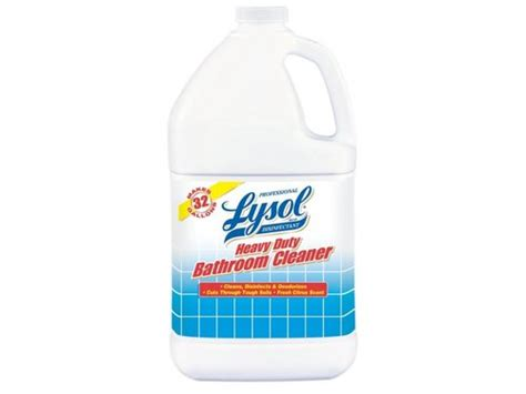 heavy duty bathroom cleaner reckitt benckiser 94201 lysol heavy duty disinfectant