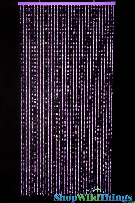 beaded curtains room decor purple curtains with purple