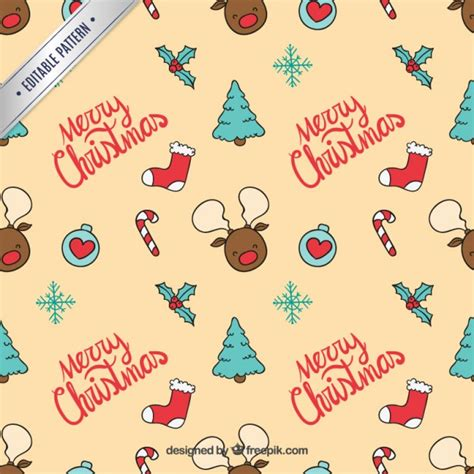 christmas patterns early years christmas pattern vector free download