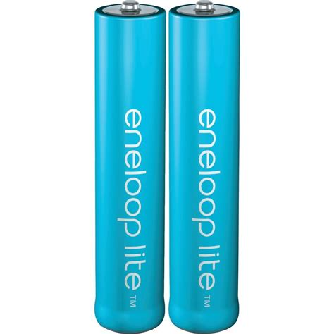 aaa battery rechargeable nimh panasonic eneloop lite
