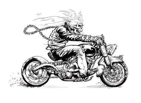 Tattoo Skelett Motorrad by Skeleton Riding A Motorcycle Google Search Evil