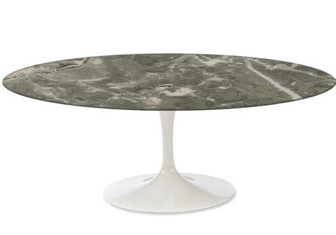 white marble oval table saarinen oval coffee table marble knoll milia shop
