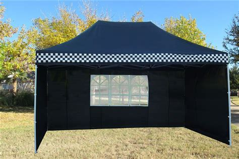 black checker pop  tent