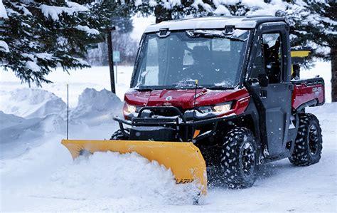 light duty snow plow fisher trailblazer utv snow plow dejana truck utility