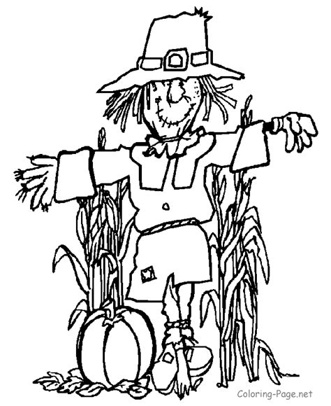 autumn coloring pages for kids coloring home