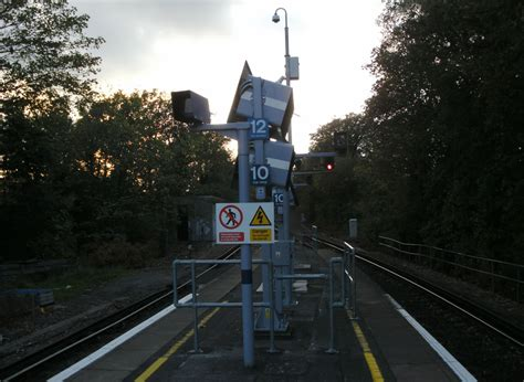from the platform 2 two of our carriages are missing bringing twelve car services to hayes london reconnections