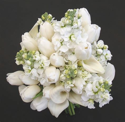 white wedding flowers tulip flower bouquets white wedding bouquet jpg