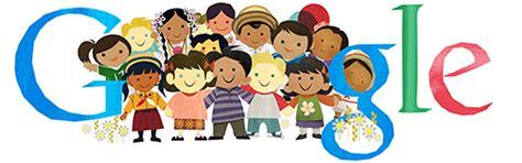 Doodle Del Dia De Hoy Children S Day Universal International Day For Children