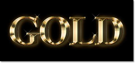 how to create a stylish black and gold 3d text effect in gold plated text effect in photoshop