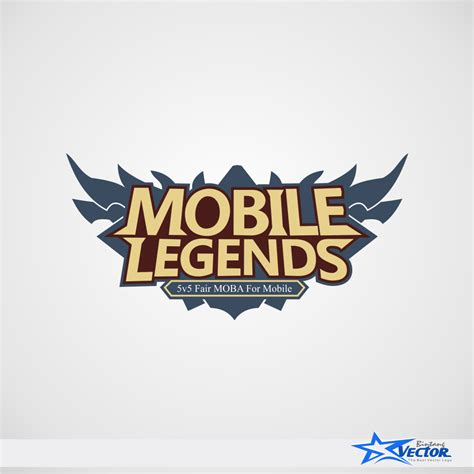 mobile legends logo vector cdr  bintangvector