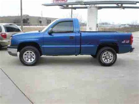 used chevy truck bed for sale find used 2003 chevy silverado 4x4 reg cab short bed
