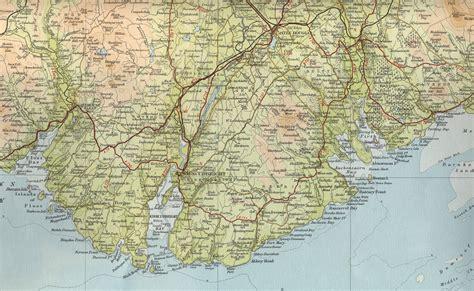 map of kirkcudbright map