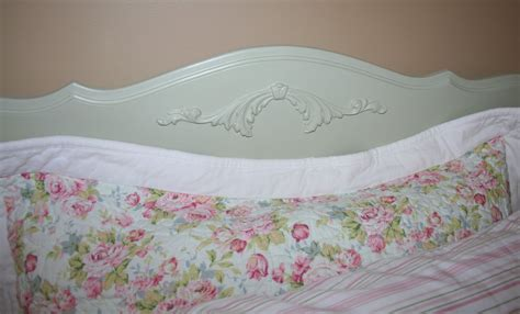 simply projects shabby chic headboard and foot board makeover