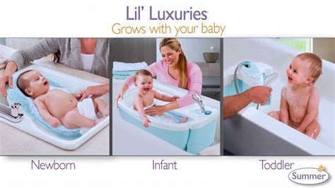 Summer Lil Luxuries Whirpool Bubbling N Shower summer infant s new lil luxuries whirlpool bubbling spa