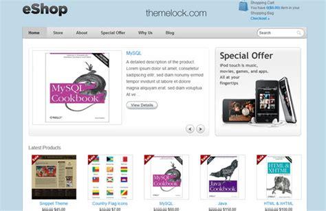 theme wordpress eshop eshop templatic wordpress theme 187 themelock com free