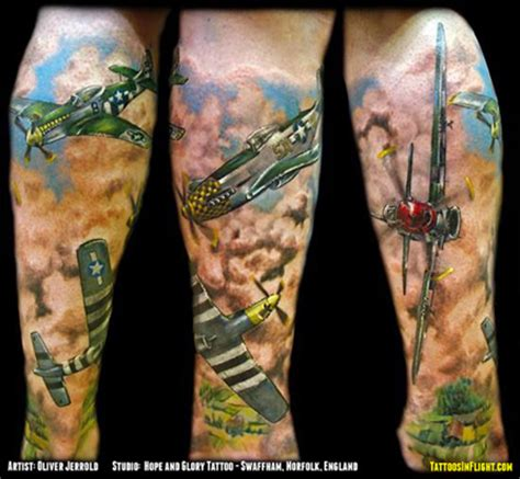 tattoos in flight the best aviation inspired tattoos