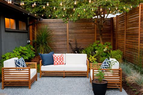 idea for wood metal mix decorations 10 ways to amp up your outdoor space with string lights