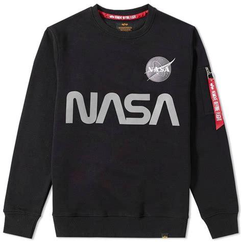 Hoodie Sweater Nasa Premium alpha industries nasa reflective sweater