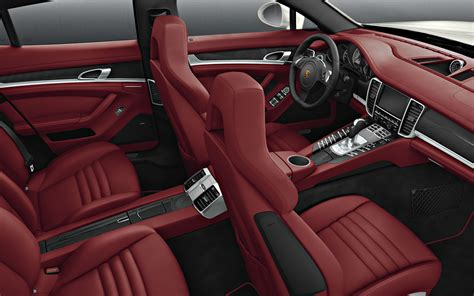 white porsche red interior porsche panamera 4s exclusive middle east edition