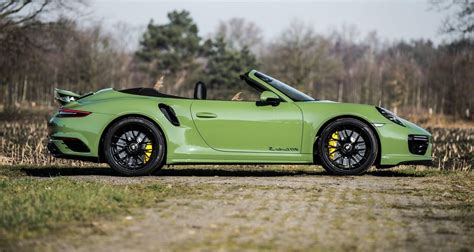 porsche 911 olive green sight to behold olive green porsche 991 turbo s cab mk ii