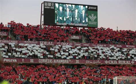 oferta entradas el granada oferta entradas a 2 euros para el partido ante