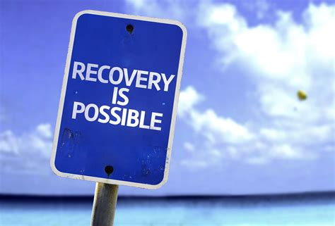 Addiction Detox Duck Call by Recovery Is Possible Sign With A On Background