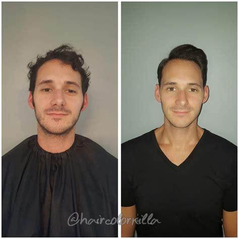 haircut before after keratin before and after mens haircut and keratin treatment yelp