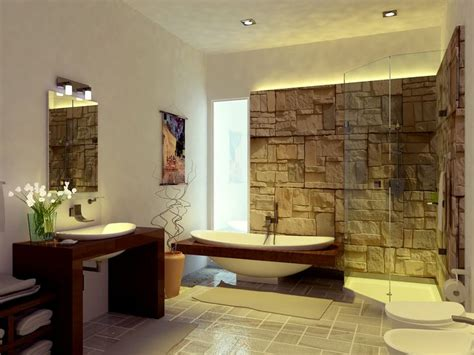 A Lovely Zen Bathroom Minimalist Interior Design