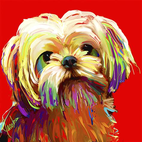 shih tzu painting shih tzu shih tzu paintings framed artwork by shih tzu artists breeds picture