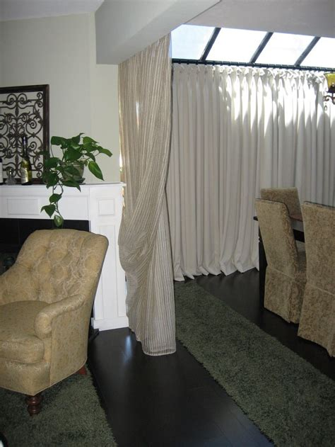 portable curtain room dividers 17 best ideas about portable room dividers on pinterest