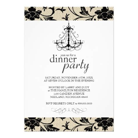 Fancy Dinner Party Invitations 5 Quot X 7 Quot Invitation Card Zazzle Fancy Invitation Template