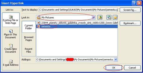 membuat link foto pada excel satria tama membuat link pada file excel