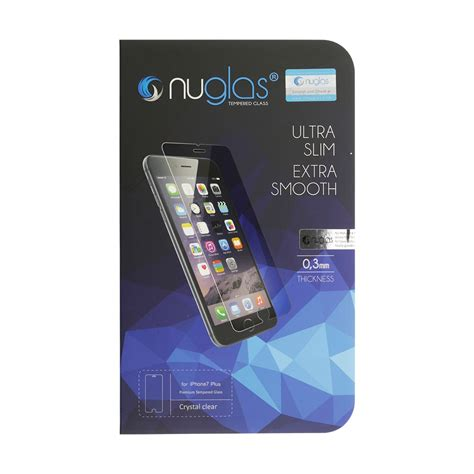 iphone   nuglas  tempered glass protection screen