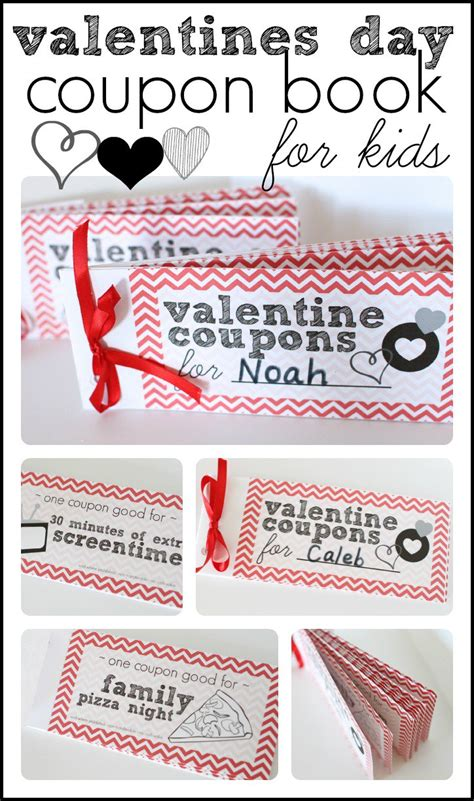 valentines day for toddlers valentines day coupon book for i can teach my child