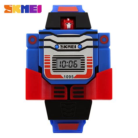 skmei 1095 detachable transformer robot