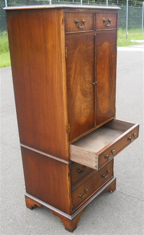 Narrow Depth Storage Cabinet Mahogany Narrow Storage Cabinet