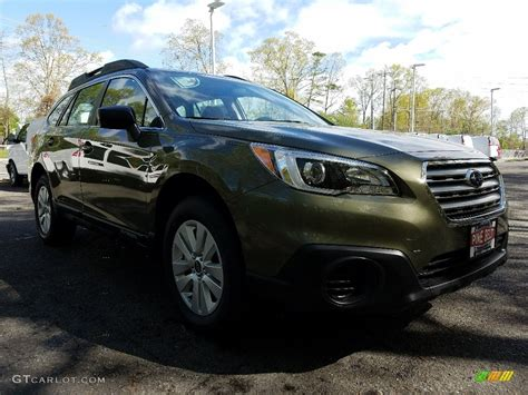 green subaru outback 2017 2017 wilderness green metallic subaru outback 2 5i
