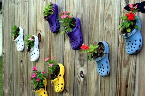5 Clogs Cuteness Ideas by Plantar Shoes Again Ideas For Home Garden Planters