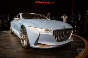 the new genesis car genesis new york concept is a sports sedan that ll make