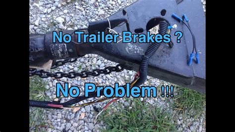 trailer brakes     diagnose wiring problems