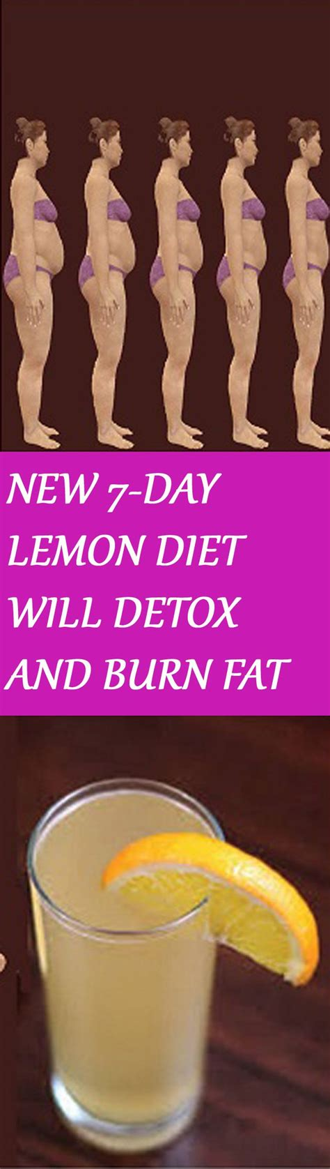 Lemon Detox Diet 7 Day Pack by 1000 Ideas About Detox Juices On Juice