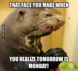 Meme Monday - tomorrow is monday