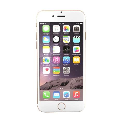 Iphone 6 32gb Gold Resmi Tam jual apple iphone 6 32gb smartphone gold garansi resmi