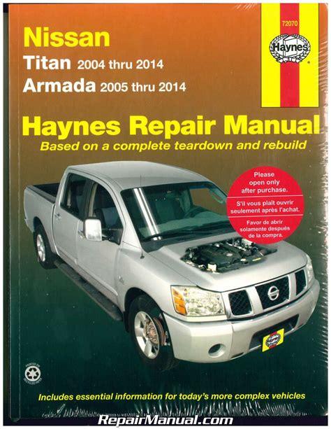 car repair manuals download 2012 nissan armada on board diagnostic system nissan titan 2004 2014 nissan armada 2005 2014 haynes automotive repair manu ebay