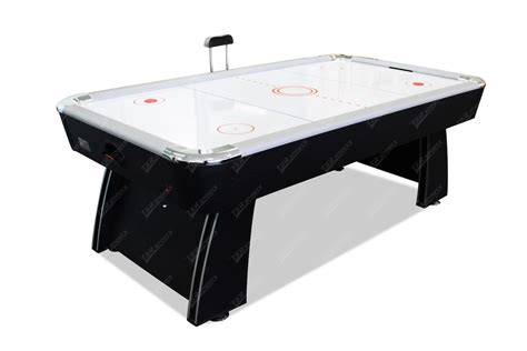 2017 new model black 7ft air hockey table with table