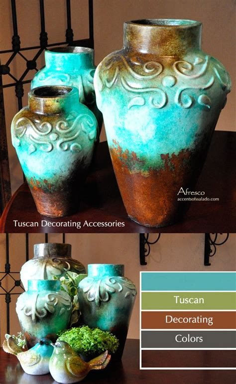 tuscan vases home decor best 25 tuscan style decorating ideas on pinterest