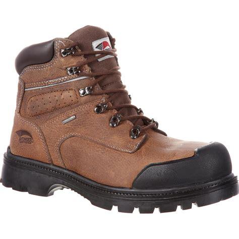 puncture resistant boots avenger steel toe waterproof puncture resistant work boot