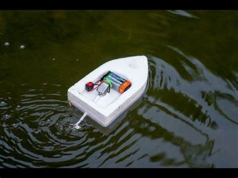 how to make a boat thermocol how to make a powerful electric boat for baby electric