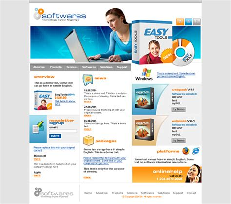 software website template download free software filecloudit